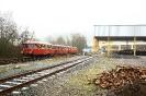 Schienenbusgarnitur (ex Hönnetal, jetzt AKE Touristik) am 26.1.2019 anlässlich einer DGEG Sonderfahrt in Dreis-Tiefenbach (26.1.2019).
