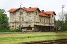 Empfangsgebäude Luzna u Rakovnika, Museumsseite.