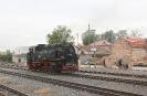 99 1761-8 der Lößnitzgrundbahn beim Umsetzen in Radeburg (12.10.2020).