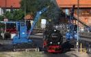 99 7232-4 am 5.6.2011 beim Bekohlen in Wernigerode.