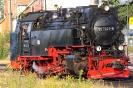 99 7241-5 am 14.8.2013 im Bw Wernigerode.