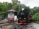 99 7243-1 und 107016-1 am 12.8.2013 Wernigerode-Westerntor.