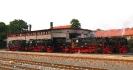 Dampfloktreff am 31.5.2008 im Bw Wernigerode.