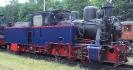 99 4652 Heeresfeldbahnlokomotive HF 110 C am 17.6.2006 in Putbus.