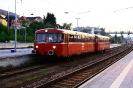798 706-8 u. 998 840-3 der Eisenbahnfreunde Passau bei der abendlichen Rückkehr aus Freyung in Passau am 1.5.2019.