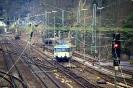 798 808-1 der Kasbachtalbahn am 10.3.2018 bei der Ausfahrt aus Linz vor der Steilstrecke nach Kalenborn.